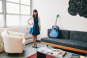 Maryland Institute College of Art (MICA) portraits of select grad students for annual book.<br /> <br /> © 2013 Joey Pulone