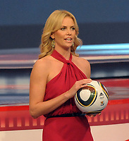 FOOTBALL - MISCS - WORLD CUP 2010 - FINAL DRAW - 4/12/2009 - PHOTO BERND WEISSBROD / PICTURE ALLIANCE / DPPI - <br /> ACTRESS CHARLIZE THERON - PORTRAIT - AMBIANCE