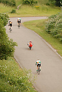 The Thursday evening ten mile time trial at Eastway circuit in London drew a regular and mixed crowd