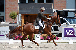 Van Der Meer Patrick, NED, Presidents First Apple<br /> Nederlands Kampioenschap Dressuur <br /> Ermelo 2017<br /> © Hippo Foto - Dirk Caremans<br /> 15/07/2017