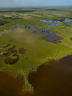 Southern Everglades watershead into Florida Bay.