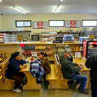 022815  Adron Gardner/Independent<br /> <br /> Guests take a seat at the Candy Kitchen Trading Post Saturday.