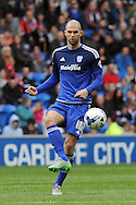 Cardiff City's Matthew Connolly in action. Skybet football league championship match, Cardiff city v Bolton Wanderers at the Cardiff city Stadium in Cardiff, South Wales on Saturday 23rd April 2016.<br /> pic by Carl Robertson, Andrew Orchard sports photography.