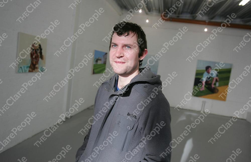 Emmet Kierans of Occupy Space, Limerick.<br /> Pic: Marie McCallan / Press 22