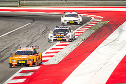 03.08.2014, Red Bull Ring, Spielberg, AUT, DTM Red Bull Ring, Renntag, im Bild Jamie Green, (GBR, Hoffmann Group Audi RS 5 DTM), Marco Wittman, (GER, 1. Platz, Rennen, Ice-Watch BMW M4 DTM), Martin Tomczyk, (GER, BMW M Performance Zubehoer M4 DTM) // during the DTM Championships 2014 at the Red Bull Ring in Spielberg, Austria, 2014/08/03, EXPA Pictures © 2014, PhotoCredit: EXPA/ M.Kuhnke
