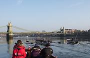 Putney, London,  Tideway Week, Championship Course. River Thames, <br /> <br /> Tuesday  28/03/2017<br /> [Mandatory Credit; Credit: Peter Spurrier/Intersport Images.com ]<br />  <br /> <br /> NIKON CORPORATION - NIKON D810 - 1/800 - f6.3  30.1MB MB
