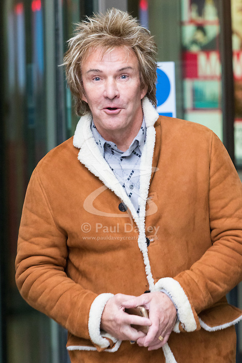 London, January 14 2018. Pimlico Plumbers' Charlie Mullins at the BBC's New Broadcasting House in London.. © Paul Davey