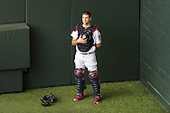 Joe Mauer #7 of the Minnesota Twins stands during the national anthem before a game against the Philadelphia Phillies on June 11, 2013 at Target Field in Minneapolis, Minnesota.  The Twins defeated the Phillies 3 to 2.  Photo: Ben Krause