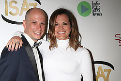 Paul Gosselin, Melissa Claire Egan at the 7th Annual Indie Series Awards at the El Portal Theater on April 6, 2016 in North Hollywood, CA. EXPA Pictures © 2016, PhotoCredit: EXPA/ Photoshot/ Kerry Wayne<br /> <br /> *****ATTENTION - for AUT, SLO, CRO, SRB, BIH, MAZ, SUI only*****