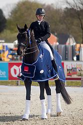 De Winne Flore, BEL, Flynn<br /> CDI3* Opglabbeek<br /> © Hippo Foto - Sharon Vandeput<br /> 24/04/21
