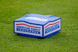 June 22, 2018 - Madison, WI, U.S. - MADISON, WI - JUNE 22: A tee box during the American Family Insurance Championship Champions Tour golf tournament on June 22, 2018 at University Ridge Golf Course in Madison, WI. (Photo by Lawrence Iles/Icon Sportswire) (Credit Image: © Lawrence Iles/Icon SMI via ZUMA Press)