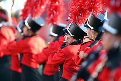 03 September 2016:  Big Red Marching Machine. NCAA FCS Football game between Valparaiso Crusaders and Illinois State Redbirds at Hancock Stadium in Normal IL (Photo by Alan Look)