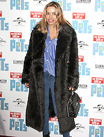Elen Rivas, The 'Petmiere' of The Secret Life of Pets to mark the UK DVD Release, Prince Charles Cinema, London UK, 12 November 2016, Photo by Brett D. Cove