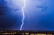 """Storm Chaser: Amazing photos that convey the awesome power and beauty of nature<br /><br />Storm chaser Mike Olbinski captures lightning, tornadoes and dramatic cloud formations in stunning images that convey the awesome power and beauty of nature.<br /><br />Photographer Mike Olbinski chases storms throughout his native Arizona and further afield, capturing lightning, tornadoes and dramatic cloud formations in images that convey the awesome power and beauty of nature. A new book, Storm Chaser, gathers 100 of his most breathtaking images. He says he had always been interested in storms and would travel thousands of miles every year, chasing the big supercells and tornadoes that appear on the central plains of the United States each spring. """"But in 2011 my life changed,"""" he says, """"On 5 July I received a text with a photo of a dust storm rolling into the Phoenix area from the southeast. The day before I had just started practising time lapse photography and when I heard about a dust storm heading my way, I grabbed my gear and headed to a parking garage down the street. I thought that a time-lapse of a dust storm over the city would really give people an idea of how large these things can be.<br /><br />""""As I pulled up to the top of the parking garage, my jaw dropped. The sky before me was unlike anything I'd ever seen. A massive wall of dust was headed my way. Not the normal dust storms you tend to see out here. No, this was like the end of the world. The wall was dense, thick and as tall as the clouds. It looked like a scene from the movie Independence Day. The National Weather Service would later say it was over 100 miles wide and a mile high.""""  The most amazing moment though for me was the day when I received a phone call from Al Gore's office, asking if they could use the footage in their climate change presentations. I was absolutely blown away.<br />mikes book is out now """"Storm Chaser by Mike Olbinksi"""", published by Pen & Sword Books.<br /><br />Photo shows: A s"""