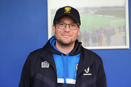 Author John Green visiting AFC Wimbledon during the EFL Sky Bet League 1 match between AFC Wimbledon and Oxford United at the Cherry Red Records Stadium, Kingston, England on 10 March 2018. Picture by Matthew Redman.