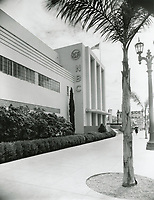 1954 NBC Radio City at Sunset Blvd & Vine St