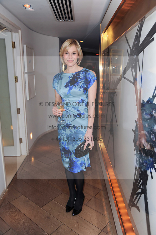 Jenni Falconer at a party to promote Marie Claire magazine Inspire & Mentor Campaign held at The Loft, The Ivy Club, West Street, London on 30th March 2010.
