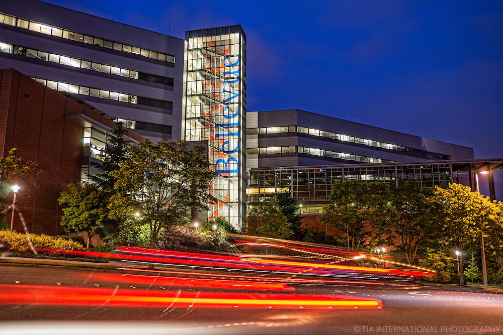 Bellevue City Hall @ Night