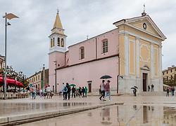 THEMENBILD - die Lady of Angels Church, aufgenommen am 25. Juni 2018 in Porec, Kroatien // Lady of Angels Church, Porec, Croatia on 2018/06/25. EXPA Pictures © 2018, PhotoCredit: EXPA/ JFK