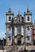 igreja de santo ildefonso church porto portugal