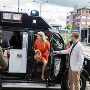 NLD/Ede/20140615 - Premiere film Heksen bestaan niet, Pauline Wingelaar stapt uit