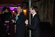 WILL YOUNG; DAN GILLESPIE, InStyle's Best Of British Talent Party in association with Lancome. Shoreditch HouseLondon. 25 January 2011, -DO NOT ARCHIVE-© Copyright Photograph by Dafydd Jones. 248 Clapham Rd. London SW9 0PZ. Tel 0207 820 0771. www.dafjones.com.