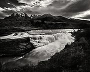 Cascada Paine, Torres del Paine National Park, Chile
