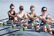 Race: 92  Event: Women's Quad Sculls - Championship - Heat<br /> <br /> National Schools Regatta 2018<br /> Sunday<br /> <br /> To purchase this photo, or to see pricing information for Prints and Downloads, click the blue 'Add to Cart' button at the top-right of the page. The Metropolitan Regatta 2018 The Metropolitan Regatta 2018 The Metropolitan Regatta 2018