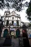 Recife_PE, Brasil..Igreja Franciscana de Santo Antonio em Recife, Pernambuco...Santo Antonio Franciscan Church in Recife, Pernambuco...Foto: JOAO MARCOS ROSA / NITRO