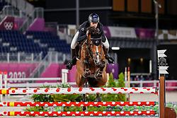 Goodin Bruce, NZL, Danny V, 375<br /> Olympic Games Tokyo 2021<br /> © Hippo Foto - Stefan Lafrentz<br /> 06/08/2021