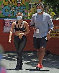 EXCLUSIVE: Lady Gaga and boyfriend Michael Polansky play it safe with masks on while out and about. 30 May 2020 Pictured: Lady Gaga. Photo credit: P&P / MEGA TheMegaAgency.com +1 888 505 6342