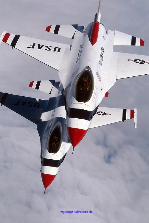 TBirds F-16C Falcons