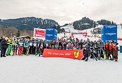 25.01.2020, Streif, Kitzbühel, AUT, FIS Weltcup Ski Alpin, im Bild Teamfoto Charity Race // Teamfoto Charity Race during the KitzCharityTrophy 2020 at the Streif in Kitzbühel, Austria on 2020/01/25. EXPA Pictures © 2020, PhotoCredit: EXPA/ Stefan Adelsberger
