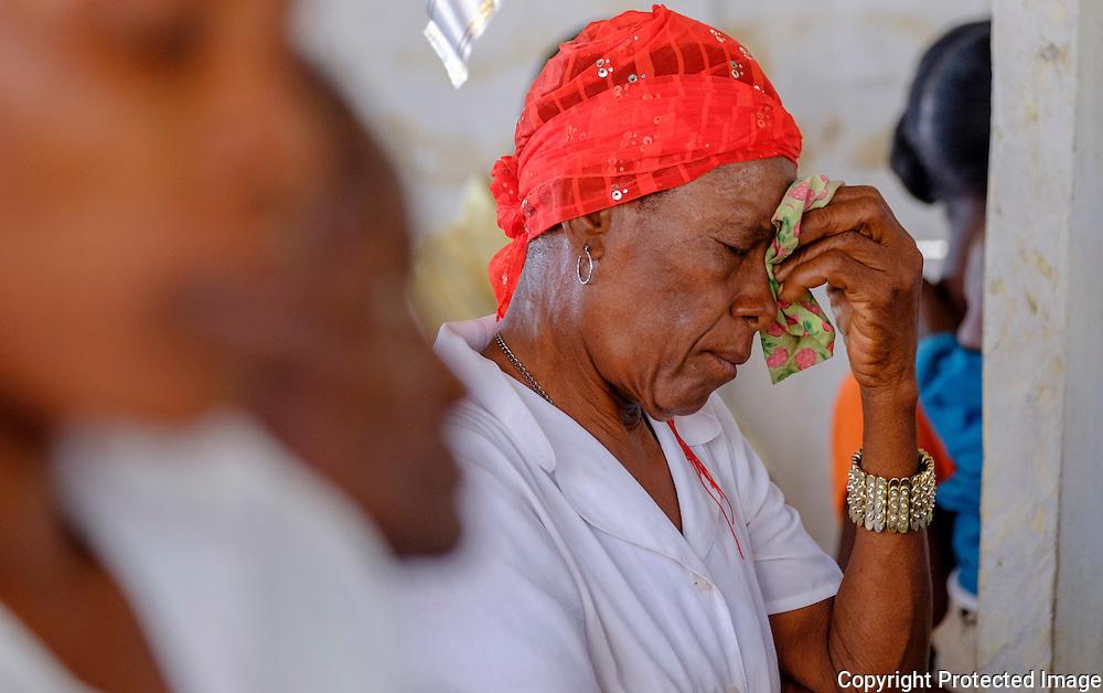 Episcopal church service, haiti