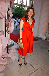 JESSICA DE ROTHSCHILD at a party to celebrate the opening of Roger Vivier in London held at The Orangery, Kensington Palace, London on 10th May 2006.<br /><br />NON EXCLUSIVE - WORLD RIGHTS