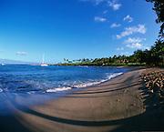 Fleming Beach, Kapalua, Maui, Hawaii, USA<br />