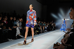March 6, 2017 - Paris, France - Leonard runaway collections during the Paris fashion week. (Credit Image: © Gaetano Piazzolla/Pacific Press via ZUMA Wire)