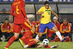 Jadson durante jogo amistoso em homenagem a carreira de sucesso de Ronaldo Nazário em seu último jogo pela seleção brasileira de futebol, um amistoso contra Roménia em 07 de junho de 2011 no Estádio do Pacaembu, em São Paulo. FOTO: Jefferson Bernardes/Preview.com