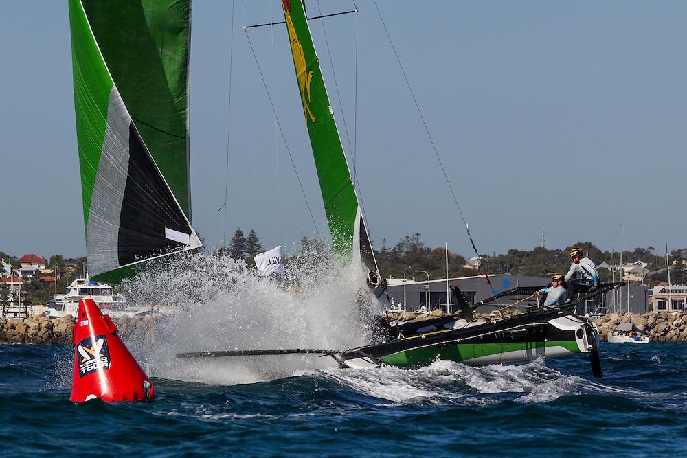 2nd March 2016. Fremantle, WA. World Match Racing Tour.