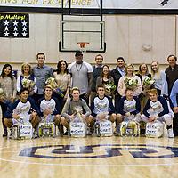 Senior Night Basketball Players