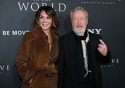All The Money in the World Premiere - Los Angeles. 18 Dec 2017 Pictured: Giannina Facio, Ridley Scott. Photo credit: Jaxon / MEGA TheMegaAgency.com +1 888 505 6342