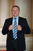 DEU, Deutschland, Germany, Berlin, 05.01.2017: Portrait Georg Pazderski, Berliner Landes- und Fraktionsvorsitzender der Partei Alternative für Deutschland (AfD).