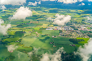 Aerial photography of Rural Norway