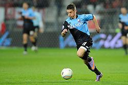 03-04-2010 VOETBAL: AZ - FC UTRECHT: ALKMAAR<br /> FC utrecht verliest met 2-0 van AZ / Dries Mertens<br /> ©2009-WWW.FOTOHOOGENDOORN.NL