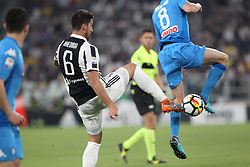 April 22, 2018 - Torino, Piemonte, Italy - in the picture the juventus player Khedira22 April 2018 - Turin, Italy - final match between F.C. Juneventu and SSC Napoli, at the Allianz Stadium in Turin, which is awarded the Scudetto in Serie A in Italy..Napoli wins 1-0. (Credit Image: © Fabio Sasso/Pacific Press via ZUMA Wire)