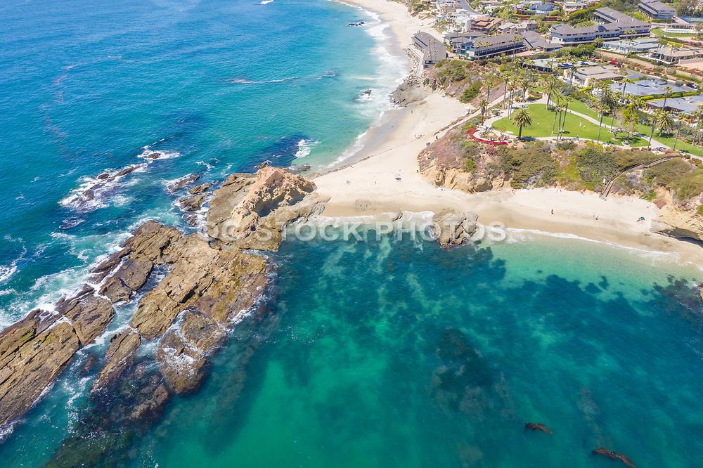 Aerial Photo of Goff Island Laguna Beach
