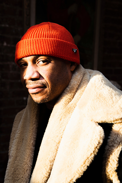 Co-founder of Roc-A-Fella Records, Kareem Burke, photographed for ONE37pm 2019.