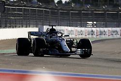 September 29, 2018 - Sochi, Russia - Motorsports: FIA Formula One World Championship 2018, Grand Prix of Russia, .#44 Lewis Hamilton (GBR, Mercedes AMG Petronas Motorsport) (Credit Image: © Hoch Zwei via ZUMA Wire)