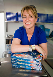 © licensed to London News Pictures. LONDON. UK.  03/07/11. Cook Rachael Allen signing books on Day three of Jamie Olivers The Big Feastival today (03/07/2011), a three day event featuring food from some of the country's top chefs along with live music. The Big Feastival takes place on Clapham Common on the 1st, 2nd and 3rd July. All profits from the event will be shared between The Jamie Oliver Foundation and The Prince's Trust.  Photo Credit Ben Cawthra/LNP