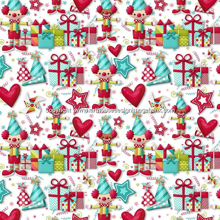 birthday pattern design